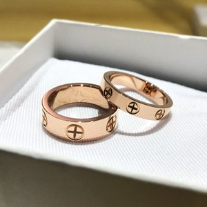 Ladies Rings Pendant Necklaces carti ring Screw Bracelet Party Ring Wedding Couple Gift Lov torie Fashion Luxury Designer with box a1