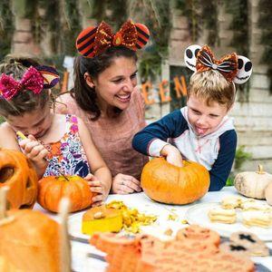 Girls Hair Accessories Sticks Bows Headbands Childrens Baby Holiday Diy Hairband Halloween Party Children'S Ornaments B8016