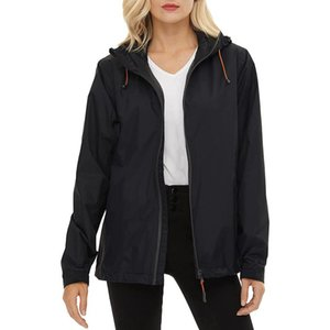 Women's Trench Coats Jacket Lightweight Raincoat Outdoor Clothes Women Coat Windproof Transition Female Camp Jackets