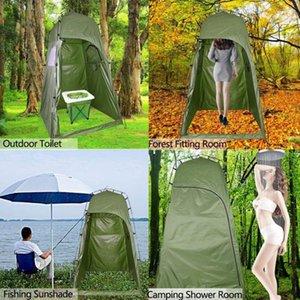 휴대용 해변 텐트 캐리 가방 야외 샤워 목욕 피팅 룸 캠핑 프라이버시 쉼터 텐트와 피난처