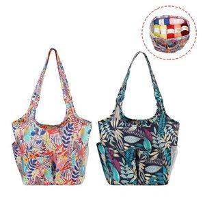 Sacos de armazenamento Saco de confecção de malhas para mulheres como tote de presente ferramentas de crochê acessórios ralls diy costura
