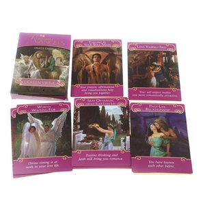 DHL 44 Pcs Oracle Tarot Cards the romance angels Card Board Deck Games Palying For Party Game