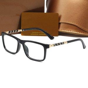 8059 квадратных плоских зеркала рамки унисекс оптические солнцезащитные очки простые очки простые гафас 4 цвета бренда дизайнерские очки
