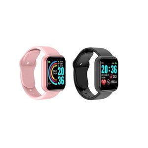 Smart Watch Women Smartwatch Heart Rate Monitor IP68 Swimming Sports Fitness Bracelet Bluetooth Watch Men for Android IOS