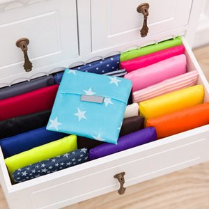 Foldable Shopping Bags Oxford Reusable Grocery Storage Bag Eco Friendly Shopping Bags Tote Bags 19 Colors W35*H55cm ZZF8041