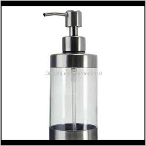 Manually Bathroom Shower Body Shampoo Lotion Liquid Soap Dispenser Stainless Steel Pump Head Ymihn H2Wei
