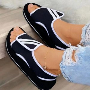 Summer Slippers Women Sandals Mesh Platform Shoes Woman Slippers 2021 Ladies Slides Soft Flats Outdoor Sandalias Plus Size 43