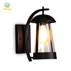 Vintage Waterproof Industrial Outdoor Wall Lamps Retro Loft Sconce Lighting For Hotel Hallway Porch Bar Decoration Lamp
