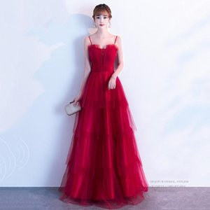 Sexy Strapless Chinese Prom Dress Lady Lace Patchwork Evening Party Gown Qipao Red Mesh Dreses Elegant Exquisite For Women1