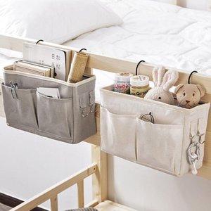 Bedside Caddy Hanging Storage Bag Organizer Dorm Room Magazine Holder