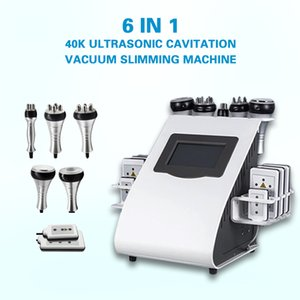 2021 Portable Ultrasound Vacuum Cavitation 6 in 1 Slimming Whole Body Fat Loss Lipo laser RF cellulite reduction Skin Tightening Machine For Sale