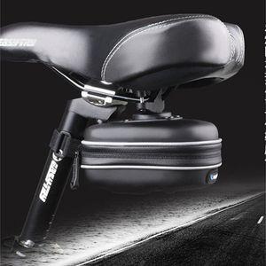 Roswheel Waterproof Bicycle Rear Cycling Saddle Bag With Hanging Ring EVA Mountain Road MTB Bike Seat Pounch TGNJ