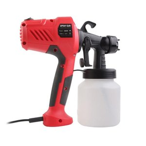 Профессиональные распылительные пистолеты 400 Вт Электрическая краска для дома DIY Картина распыления высокомоторного спирта компрессорного устройства