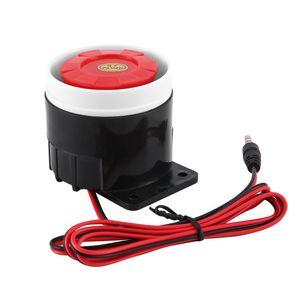 2020 Dc Piezo electronic buzzer siren security horn 12V Dc electronic buzzer siren security horn 120 Db alarm siren