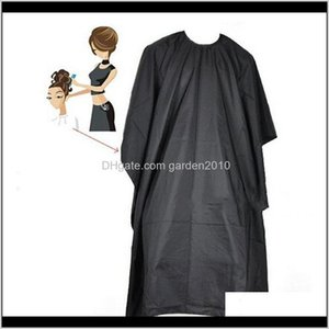 Aprons Barbershop Good Quality Cutting Salon Dress Cape Hairdressing Hair Fabric Waterproof Apron Lrfst Inqlu
