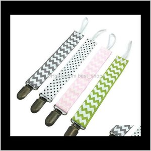 Holdersclips Holder Zigzag Clips Chevron Pacifier Soother Leash Strap Baby Funny Nipple Teethers Chain Dropresistant Belt Ate2 Qluto