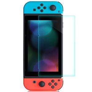 Nintendo 스위치 강화 유리 화면 보호기 보호 필름 케이스 커버 2.5D 9H 콘솔 Consola NS 액세서리