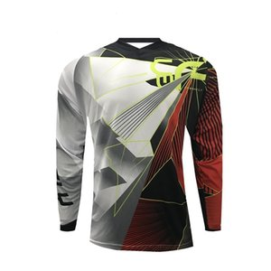 T-Shirt Preis Downhill Jersey DH Custom Offroad Larga Mountainbike Motocross-Trikots Atmungsaktiv BMX MTB