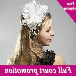 Feather hat, hairband, banquet dress accessories, hot headdress