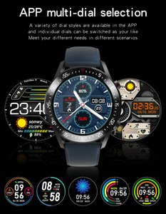 High-quality factory wholesale 2021 Round Screen Sport Smart Watch Customize Wallpaper Smartwatch Men Women Sleep Heart Rate Monitor Watches For IOS Android