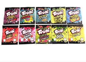 Edible Gummies Bag Weedtarts Starburst EdiblesPackaging warheads errlli Trolli Trrlli Jolly Rancher airheads Cannaburst For Mylar