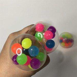 2021 juguete POP Fidget 6 cm Bolas de ventilación TPR Presión de caucho suave Juguetes