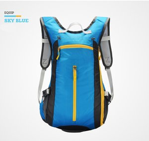 Blue cycling backpack, outdoor sports backpack High capacity