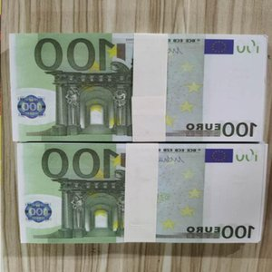 Note Bank 42 Prop Collection Copy For Nightclub Movie Play Euros Money 100 Business Fake Paper Realistic Most Txidm