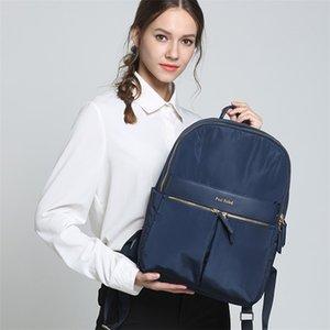 New Women Waterproof Backpack Ladies 15.6 Inch Laptop Bag Schoolbag Mochilas Escolares Para Adolescentes Sac A Dos Femme 210401