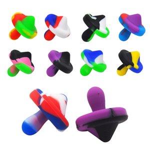 Курение силиконовые CARB CAP DIA 23 мм / 30 мм для кварцевых Banger Nails Caps Смешанные цвета Пищевой материал