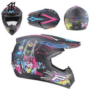 Мотокросс шлем от Road Professional ATV Cross Cross Halmets DH гоночный мотоцикл Dirt Bike Capacete de Moto Casco