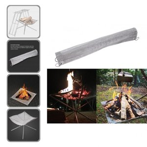 Tools & Accessories Fireplace Mesh Fine Hole Convenient Strong Heat Resistant Barbecue Fire Pit