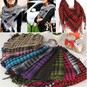 100*100cm Winter Autumn Fashion Grid Large Square Scarf Children's Grils Warm Plaids Scarves Neck Head Pashmina Lady Shawls And Wraps Bandana Tassel H911GJK8