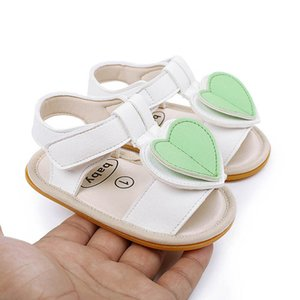 First Walkers Kids Shoes Toddler Infant Baby Girl Footwear Children Summer Moccasins Soft Love Sandals 0-12M B4817