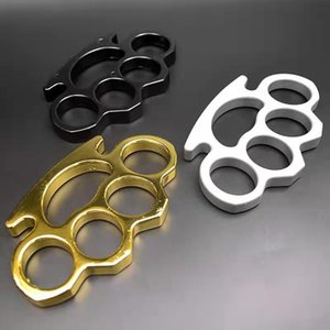 Thickened 2020 iron four-finger fiberglass iron fist ring, four-finger ring defense free fighter, clasp fist, defensive finger tiger