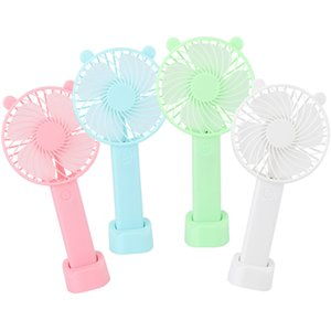 Portable USB Gadgets Charging Travelling Office Hand Held Electric Hands Rechargeable Battery Headheld Fans Mini Air Blower Fan