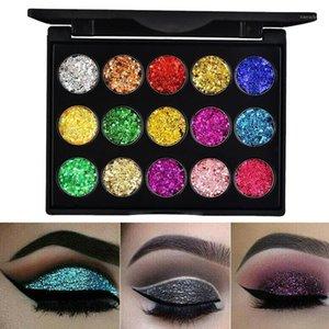 Colors Makeup Eyeshadow Palette Matte Luminous Glitter Pigment Eye Shadow Pallete1