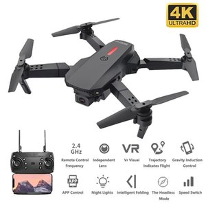 Drone 2.4GHz WiFi FPV Quadcopter With 480P 4K HD Camera Foldable Drones Toy Mini Dron Flying 15 Minutes