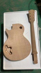 High quality DIY electric guitar kit, China factory direct sales Mahogany veneer guitar