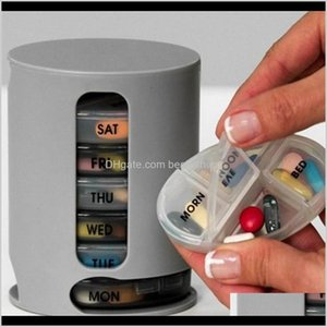 Bulk Food Organizer Pill Pro Case Compact Organize Mini Pills Handy Medicine Storage Box Fast Deliver Wholesale Idokg Od3Us
