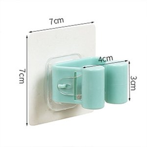 Wall Mounted hooks Mop Holder Brush Broom Hanger Storage Rack Kitchen Organizer with Accessory Hanging Cleaning Tools
