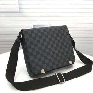 2021 Brand Men Handbags Genuine Leather cx#43 Fashion Messenger Bags 41284 Shoulder Bag Purses