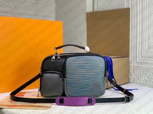 M45457 ZIPPE Briefcase Business Crossbody Handbag Fashion Men Shoulder Bag Leather Laptop Man Computer Bags