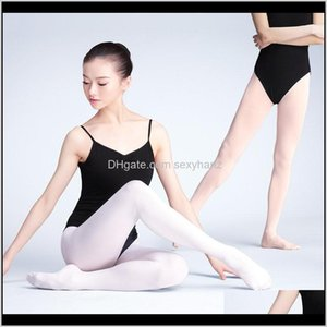 Stage Wear Apparel Drop Delivery 2021 Women Tights 80D 90D 800D Adult Veet Leggings Gymnastics Dance Ballet Pantyhose1 Btxep