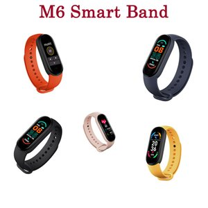 Quality M6 Smart Band 6 Watch Wristband Fitness Blood Pressure Heart Rate Tracker Passometer Daily Waterproof Fitpro App Bracelet