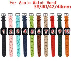 Ruckury Designer Telsing Watchbands Смотреть ремешок для часов 42 мм 38 мм 40 мм 44 мм для iWatch 2 3 4 5 полосы кожаные браслеты моды полосы