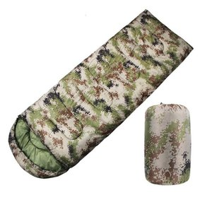 Camping Sleeping Bag Envelope Camouflage Thickened Pouch For Outdoor Sports Backpacking Travel Hiking Office Bags