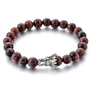 Bracelets de charme Longway Chinois Longue Tête 2021 Rouge Pierre Piano Perles Bracelet Perles Pour Femme Cool Diy Bracelets Femmes Sbr190052