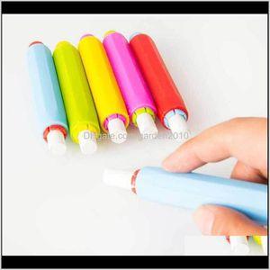 Other Office & School Supplies Dustless Holders Holder Pen Chalk Clip Non Dust Clean Teaching For Chalkboard Fdgrt Ujypl