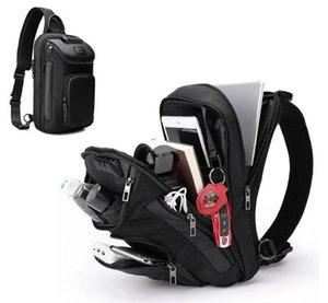 SUUTOOP - OXford Waterproof Mens Shoulder Bag, Chest Bag, Short Trip Travel Bag, Multifunction, 2021